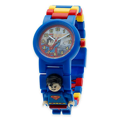 LEGO® DC Comics™ Super Heroes Superman Buildable Watch with Minifigure
