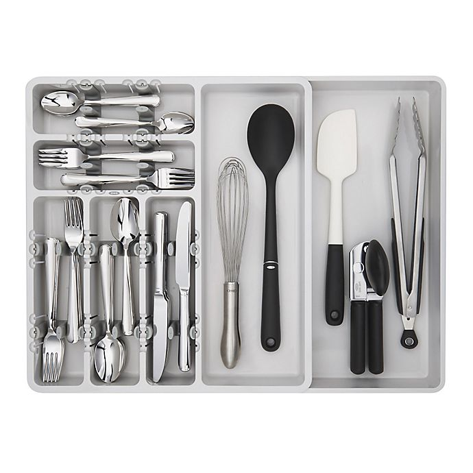 Alternate image 1 for OXO Good Grips® Expandable Utensil Organizer