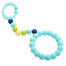 chewbeads® Baby Gramercy Teether Stroller Toy in Turquoise