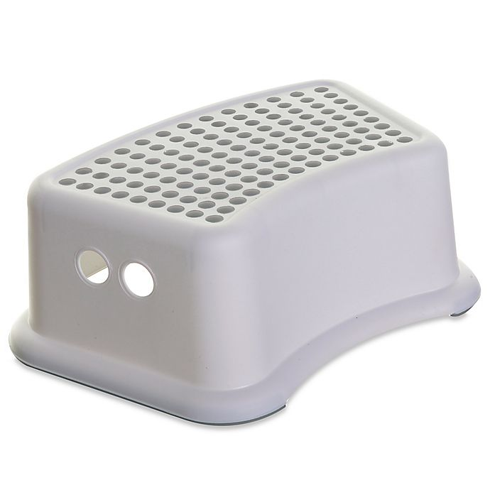 Alternate image 1 for Dreambaby® Step Stool with Grey Dots