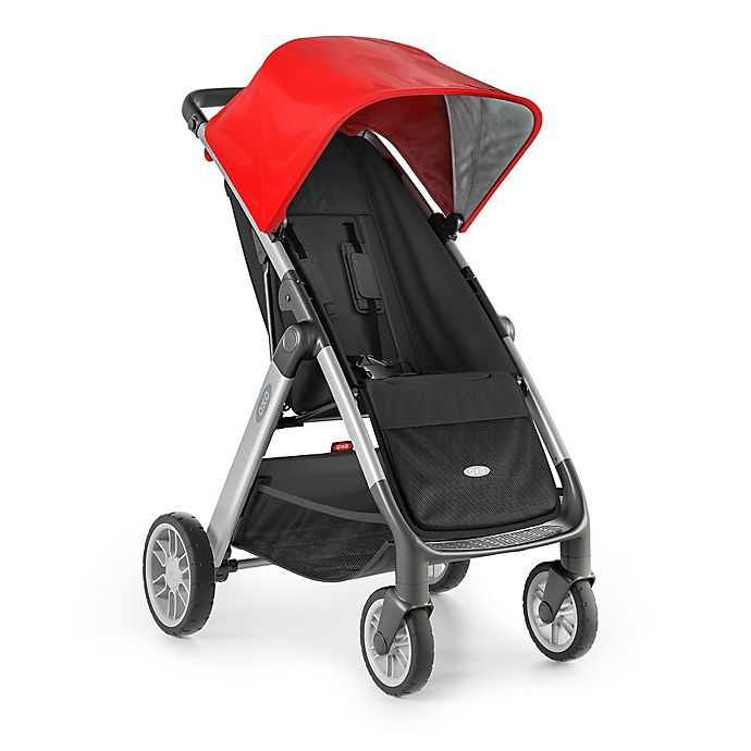 Alternate image 1 for OXO Tot® Cubby Stroller in Charcoal/Red