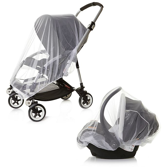 Alternate image 1 for Dreambaby® 2-Piece Travel System Insect Netting Set in White