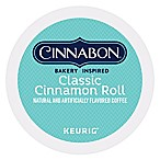Cinnabon® Classic Cinnamon Roll Light Roast Coffee Keurig® K-Cup® Pods 18-Count