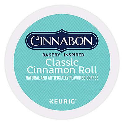 Keurig® K-Cup® Pack 18-Count Cinnabon® Classic Cinnamon Roll Light Roast Coffee