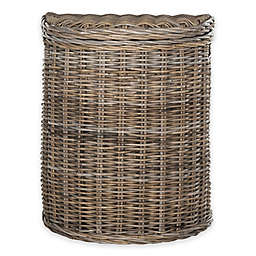 Safavieh Damari Rattan Hamper in Grey