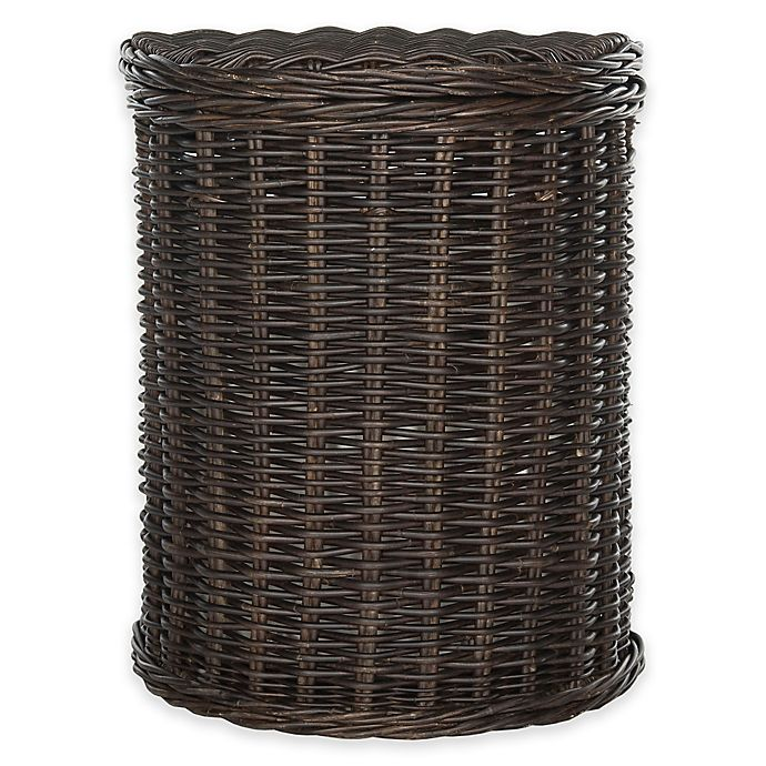 Alternate image 1 for Safaveih Manzu Hamper in Brown