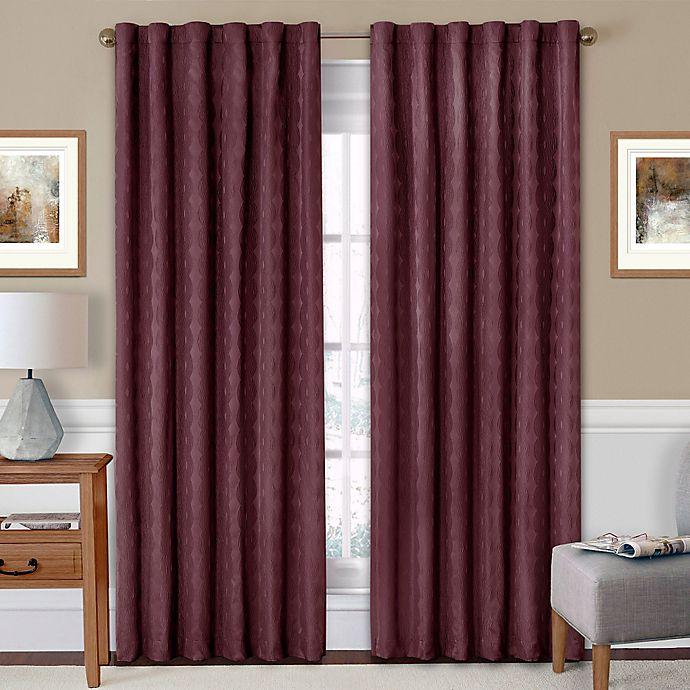 Alternate image 1 for Eclipse Adalyn Rod Pocket/Back Tab Room-Darkening Window Curtain Panel