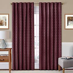Eclipse Adalyn Rod Pocket/Back Tab Room-Darkening Window Curtain Panel
