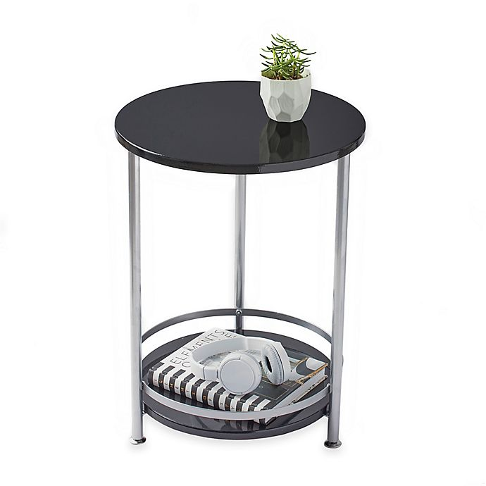 2 Tier Round Side Table Bed Bath Amp Beyond