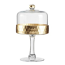 Fitz and Floyd® Daphne Pedestal Cake Plate with Dome