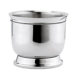 Old Dutch International Double-Walled Wine Cooler with Tie Knot in Stainless Steel