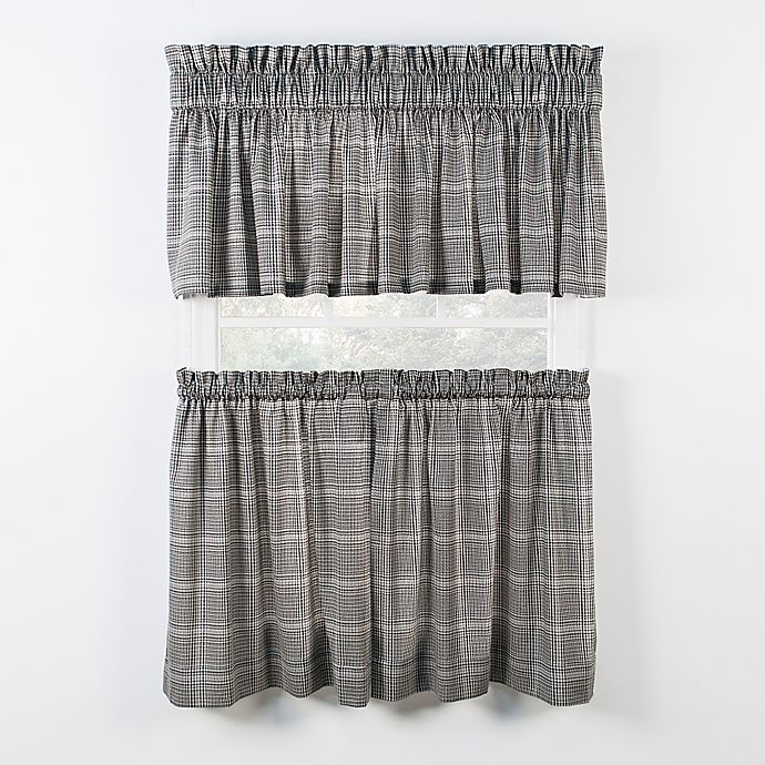 Alternate image 1 for Morrison Kitchen Window Curtain Tiers and Valance