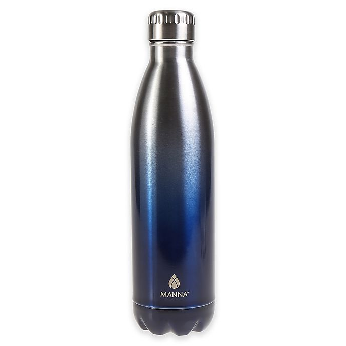 3762ad4ecf Manna™ Vogue® 17 oz. Double Wall Stainless Steel Bottle in Ombre ...