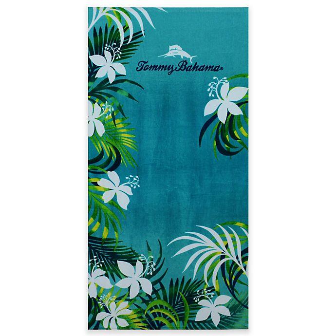 Tommy Bahama Bathroom Towels: Buy Tommy Bahama® Tropical Grove Beach Towel In Aqua From