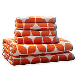 Intelligent Design Lita 6 Piece Cotton Jacquard Towel Set
