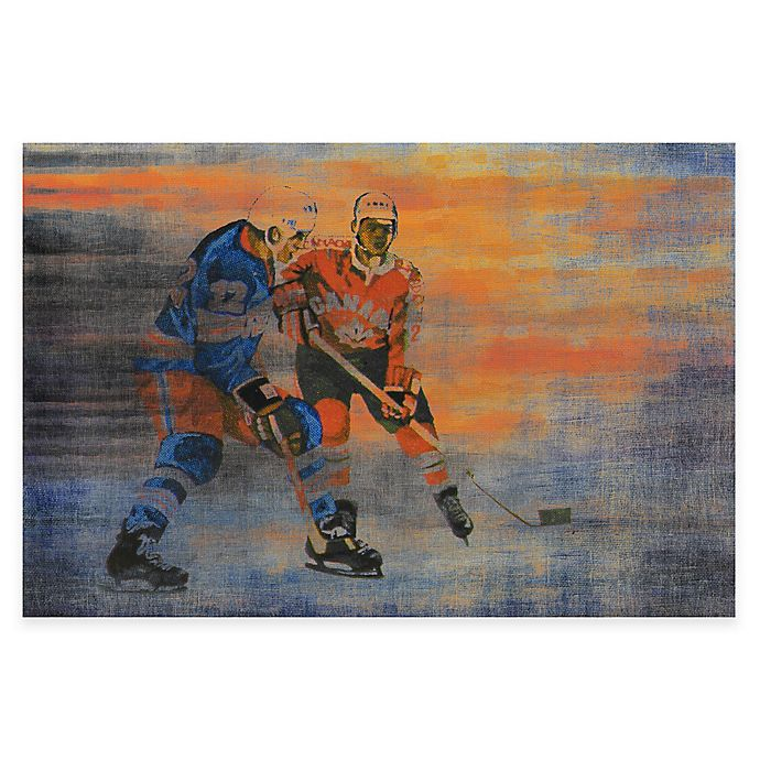 Alternate image 1 for Marmont Hill USA vs. Canada Hockey Canvas Wall Art