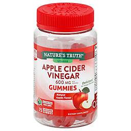 Nature's Truth® 75-Count 600 mg Apple Cider Vinegar Natural Apple Flavor Gummies
