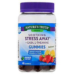 Nature's Truth® 48-Count Soothing Stress Away Plus Gaba, L-Theanine Gummies