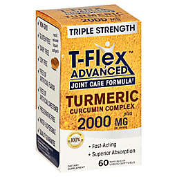 Nature's Truth 60-Count T-Flex Advanced Joint Care Formula Turmeric Curcumin Complex Softgels