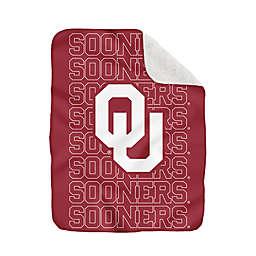 University of Oklahoma 60-Inch x 70-Inch Echo Plush Logo Blanket