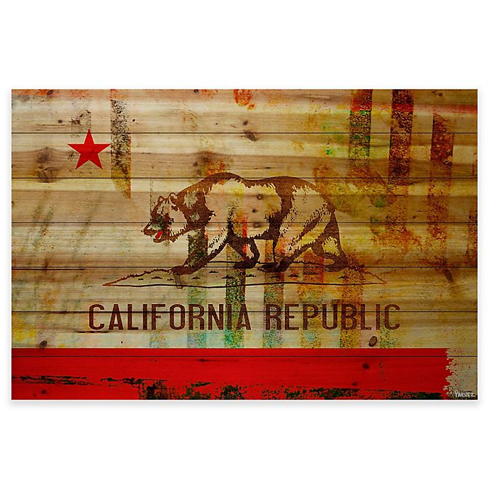 Alternate image 1 for Parvez Taj Cali 45-Inch x 30-Inch Pine Wood Wall Art