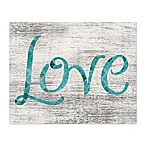 Just Love 20-Inch x 16-Inch Canvas Wall Art