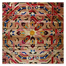 Parvez Taj Farnatchi 32-Inch x 32-Inch Pine Wood Wall Art