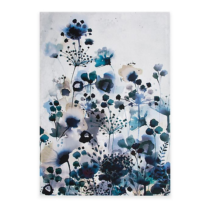Alternate image 1 for Graham & Brown Moody Blue Watercolor Canvas Wall Art