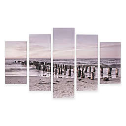 Graham & Brown Tranquil Seascape Canvas Wall Art