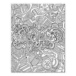 coloring canvas | Bed Bath & Beyond