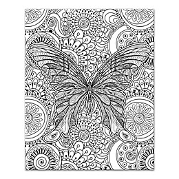 Winged Adventure Custom Coloring Canvas Wall Art