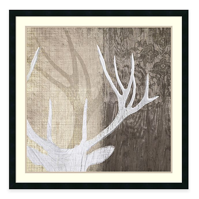 Alternate image 1 for Tandi Venter Deer Lodge II Framed Wall Art