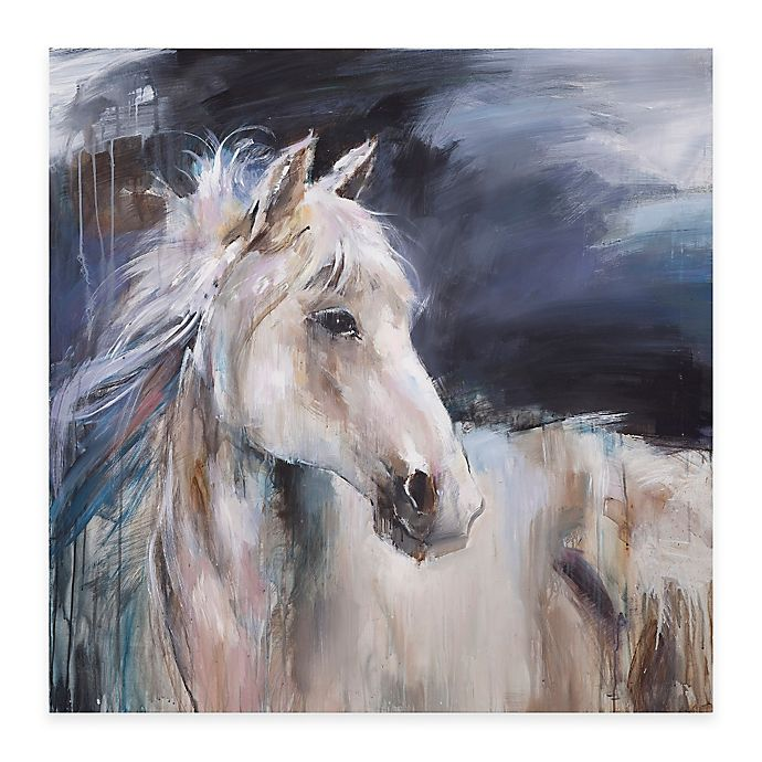 Alternate image 1 for Bassett Mirror Company Mystical Horse II Canvas Wall Art
