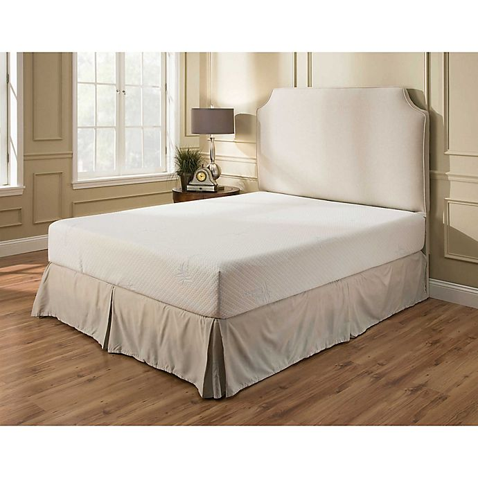 Independent Sleep 10 Inch Memory Foam With Gel Mattress Bed Bath