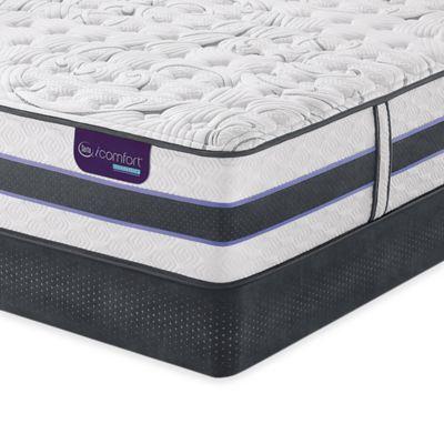 Serta Icomfort Hybrid Hb300q Smartsupport Cushion Firm Mattress Collection Bed Bath Beyond