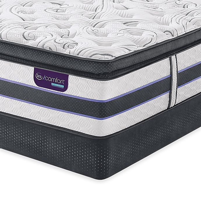 Serta Icomfort Hybrid Hb500q Smartsupport Super Pillow Top Mattress Collection