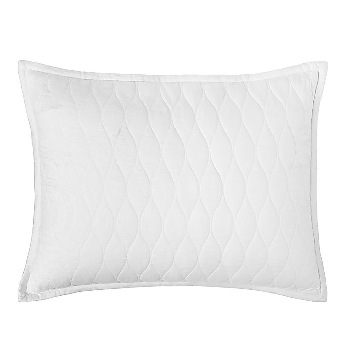 Alternate image 1 for Under The Canopy® Ogee 300-Thread-Count Organic Cotton Pillow Sham