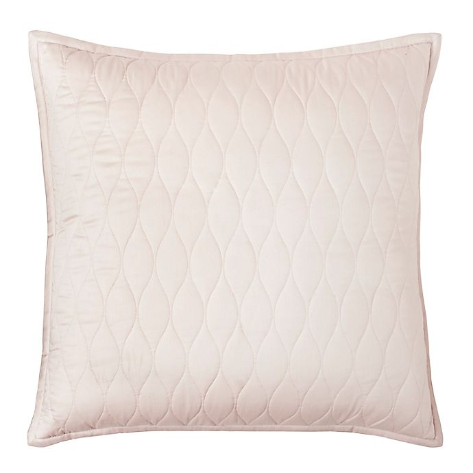 Alternate image 1 for Under The Canopy® Ogee 300-Thread-Count Organic Cotton European Pillow Sham