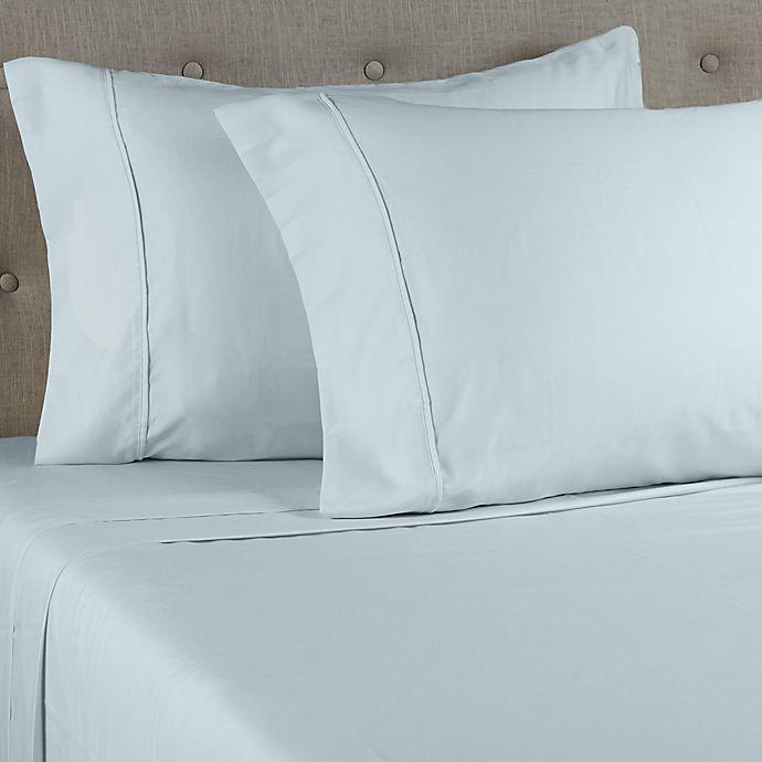 Alternate image 1 for Grand Hotel Estate 1000-Thread-Count 6-Piece King Sheet Set in Light Blue