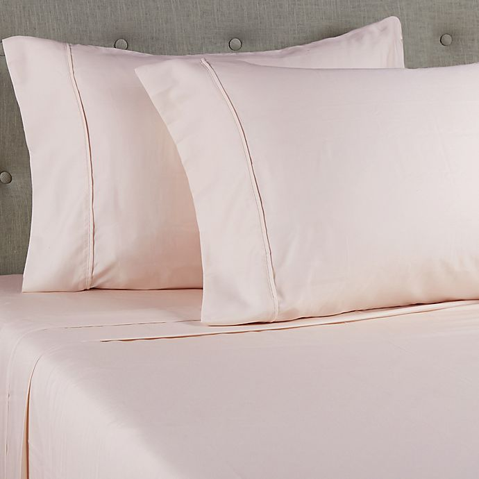 Alternate image 1 for Grand Hotel Estate 1000-Thread-Count 6-Piece Queen Sheet Set in Light Pink