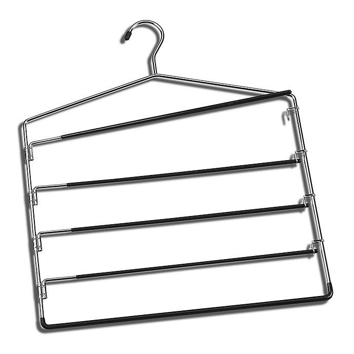 Alternate image 1 for SALT™ 5-Tier Swing-Arm Trouser Hanger