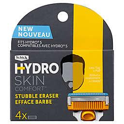 Schick® Hydro Skin Comfort™ Stubble Eraser™ 4-Count Razor Cartridges