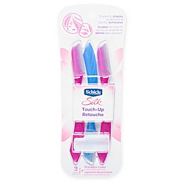 Schick® 3-Count Silk Touch-Up Face Razors