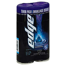 edge® 14 oz. Twin Pack Extra Moisturizing Shave Gel