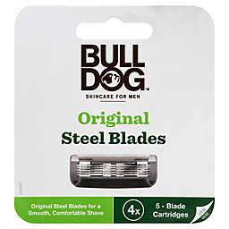 Bull Dog™ Men's Original Steel Blades (Set of 4)