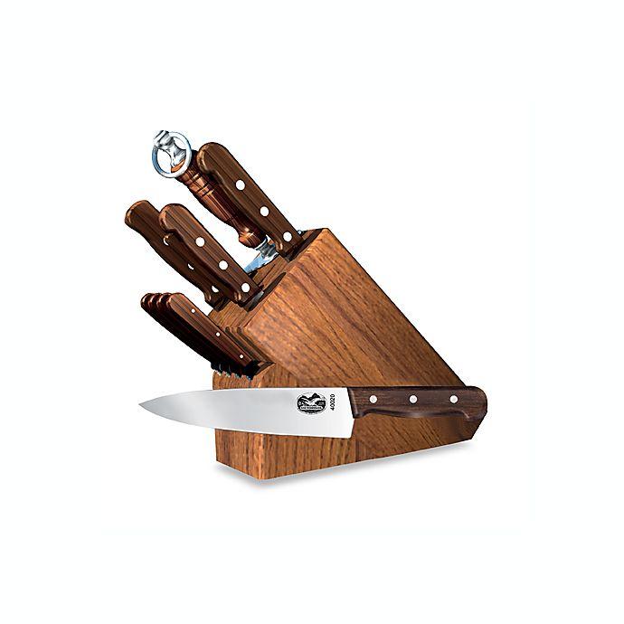 Victorinox Swiss Army Rosewood 11 Piece Knife Block Set