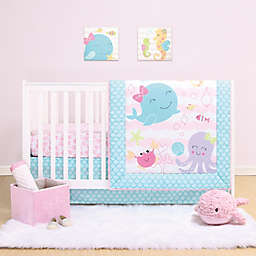 PS by the peanutshell™ Sea Sweetie 3-Piece Crib Bedding Set