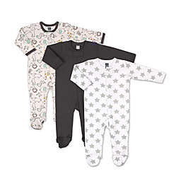 The Peanutshell™ Size 9M 3-Pack Safari Footies
