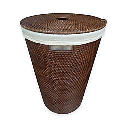 Baum-Essex Kora Hapao Rattan Hamper in Brown