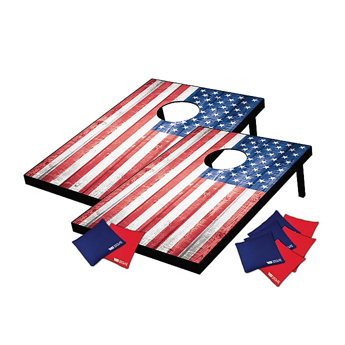 Enjoyable Wild Sports 10 Piece Stars And Stripes Tailgate Toss Game Ocoug Best Dining Table And Chair Ideas Images Ocougorg